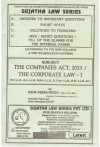 The Companies Act, 2013/ The Corporate Law - I (For LL.B., B.A. LL.B., B.B.A. LL.B, B.Com. LL.B., B.Sc. LL.B. etc.)
