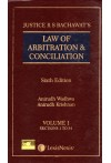 Law of Arbitration and Conciliation (Including International Commercial Arbitration and ADR) - Two Volumes