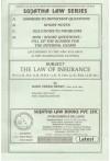 The Law of Insurance - [For LL.B, B.A. LL.B., B.B.A. LL.B., B.Com. LL.B., B.Sc. LL.B. Etc.]