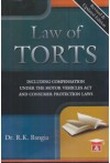 Law of Torts (Including Compensation under The Motor Vehicles Act and Consumer Protection Laws) (Revised and Updated Edition)