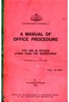 A Manual of Office Procedure