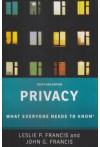 Privacy (What Everyone Needs to Know)