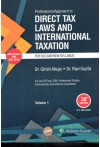 Professional Approach to Direct Tax Laws and International Taxation - Old and New Syllabus, A.Y. 2021-2022, For CA/CS Final, CMA, Professional Studies, professionals, Executives & Consultants [Two Volumes Set]